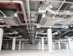 Thiết kế thi công hệ thống điều hòa không khí và thông gió công nghiệp