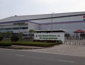 Thiết kế, thi công hệ thống điều hòa không khí nhà máy TANAKA PRECISION VIETNAM CO.,LDT
