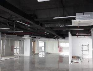 Maicom làm Tổng thầu cơ điện và xây dựng văn phòng làm việc VPMilk