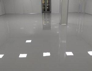 Thi công sàn công nghiệp, sơn sàn Epoxy và sàn nhựa Vinyl
